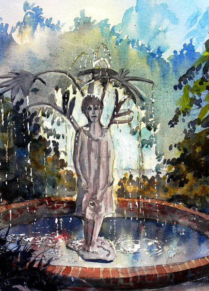 Painting - Why Does It Always Rain On Me by Glenn Marshall