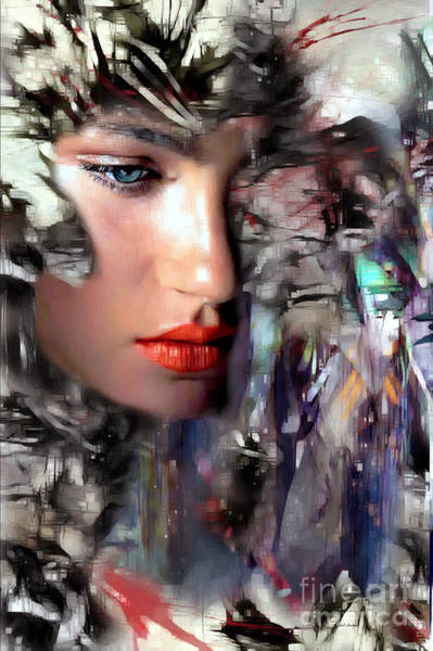 Digital Art - Why Me by Rafael Salazar