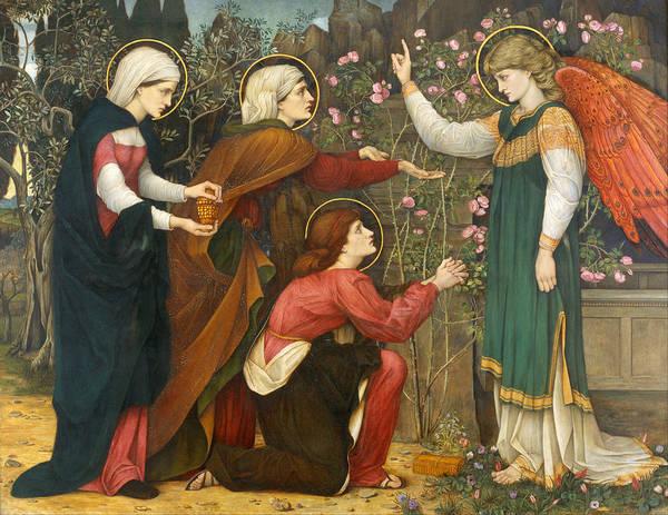 Seek Painting - Why Seek Ye The Living Among The Dead by John Roddam Spencer Stanhope