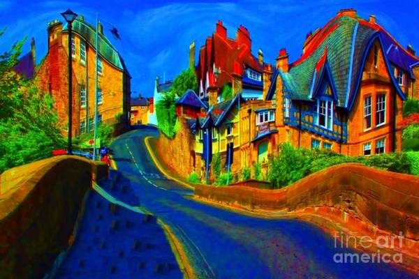 Photograph - Wibbly Wobbly Village by Les Bell