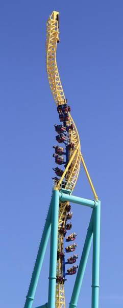 Photograph - Wicked Twister Cedar Point by Dan Sproul