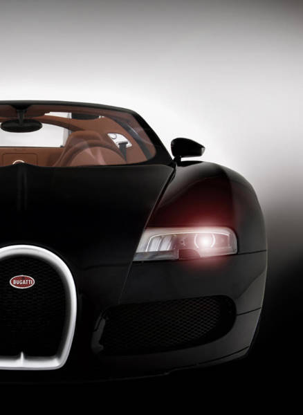 Supercars Digital Art - Wicked Veyron by Peter Chilelli