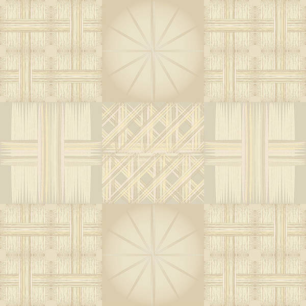 Digital Art - Wicker Quilt by Kevin McLaughlin