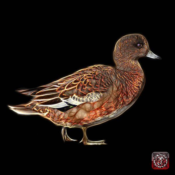 Mixed Media - Wigeon Art - 7415 - Bb by James Ahn