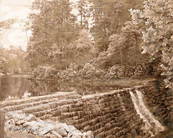 Photograph - Wigwam Falls - Blue Ridge Parkway by Paulette B Wright