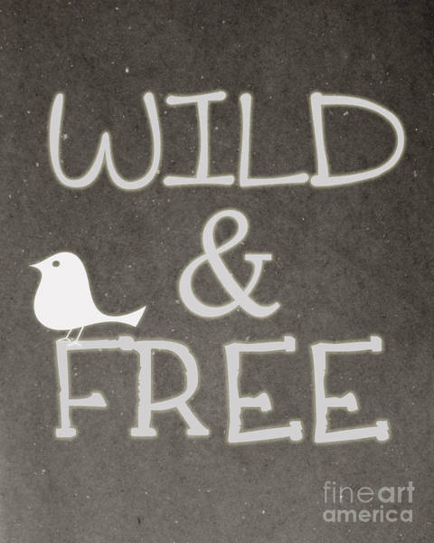Bird Photograph - Wild And Free by Pati Photography