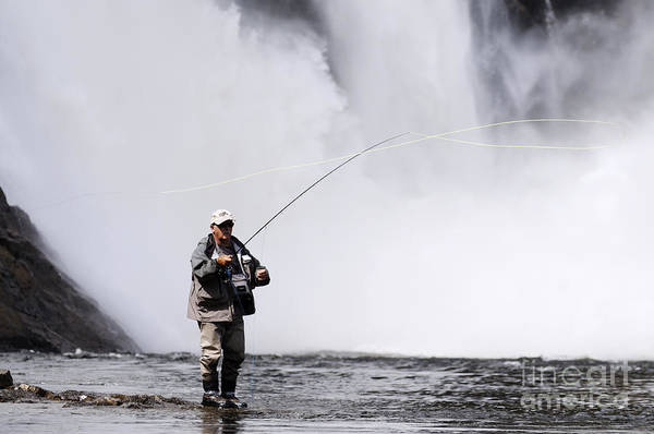 Angling Photograph - Wild Angling by Colin Woods