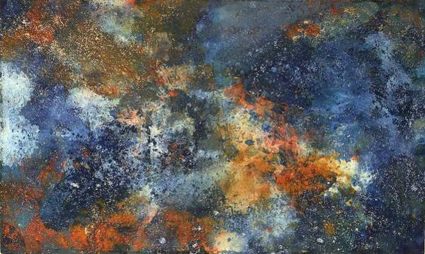 Deep Space Mixed Media - Wild Blue Yonder by Nicole Henne