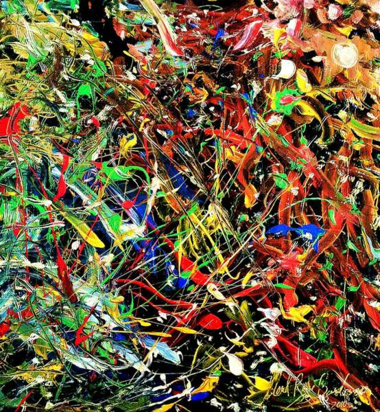 Painting - Wild Crazy by Neal Barbosa