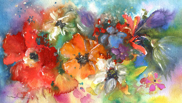 Painting - Wild Flowers 13 by Miki De Goodaboom