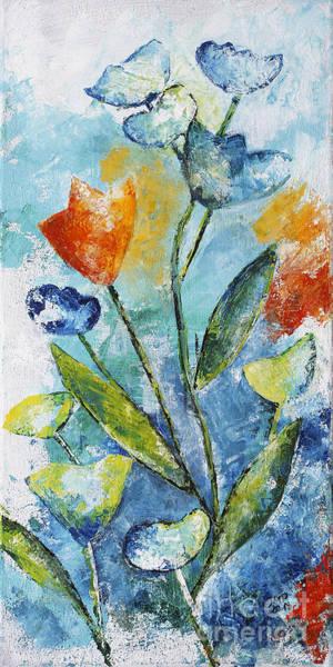 Painting - Wild Flowers by Jutta Maria Pusl