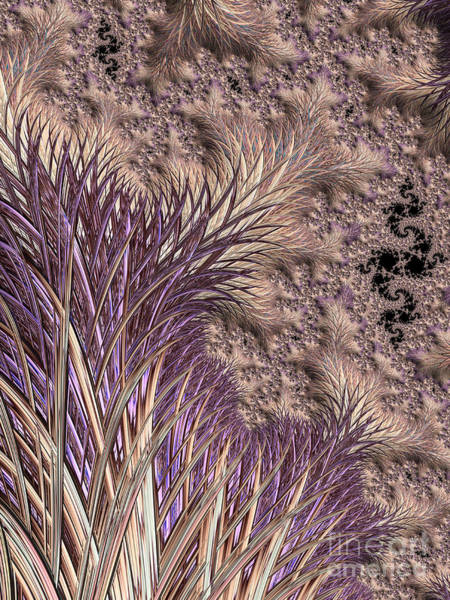 Wall Art - Digital Art - Wild Grasses Blowing In The Breeze  by Heidi Smith