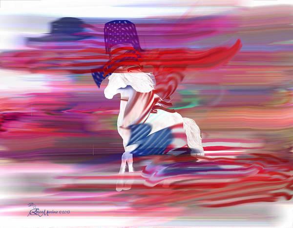 Digital Art - Wild Horses by Ericamaxine Price