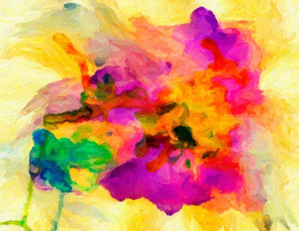 Digital Art - Wild Iris by Rick Wicker
