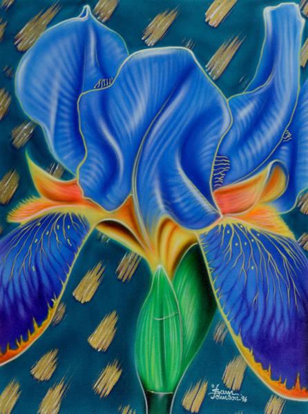Painting - Wild Iris by Sam Davis Johnson