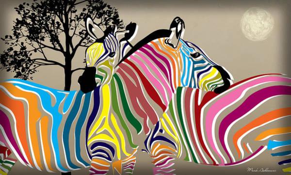 Wall Art - Digital Art - Wild Love 2 by Mark Ashkenazi