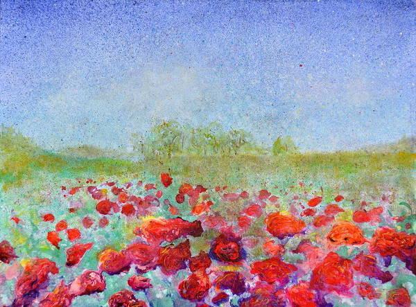 Painting - Wild Roses by Regina Valluzzi