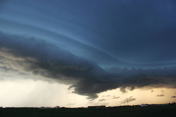 Photograph - Wild Shelf Cloud by Ryan Crouse