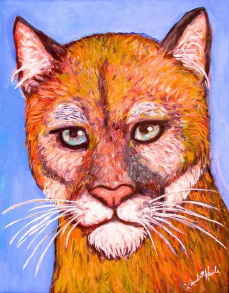 Painting - Wild Stare by Kendall Kessler