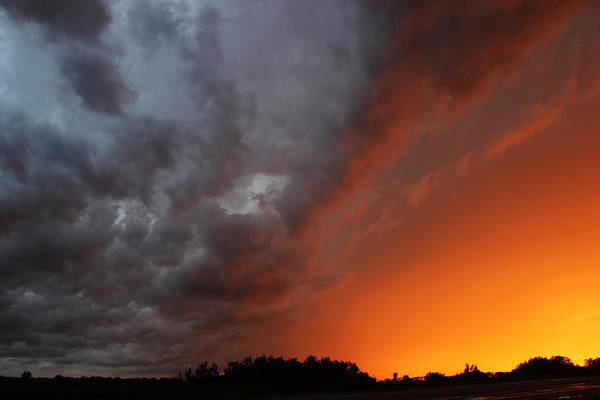 Photograph - Wild Storm Clouds Over Yorkton by Ryan Crouse
