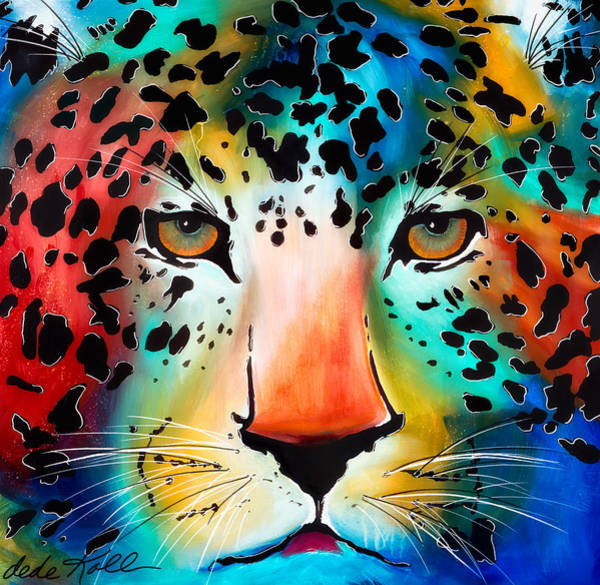 Painting - Wild Thing by Dede Koll