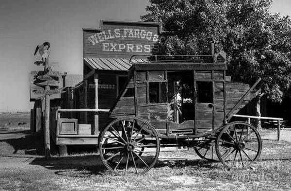 Photograph - Wild West Stagecoach by Mel Steinhauer