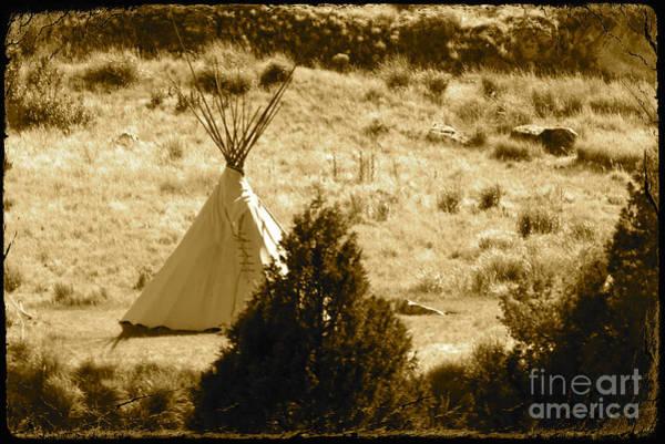Photograph - Wild West Tee Pee by Carol Groenen