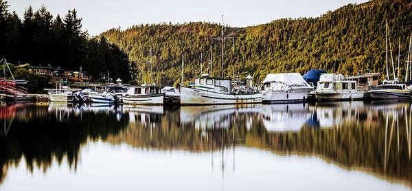 Wall Art - Photograph - Wilderness Fishing Boats by Tony Locke