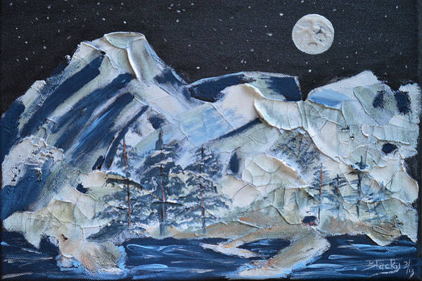 Wall Art - Painting - Wilderness Sky by Donna Blackhall