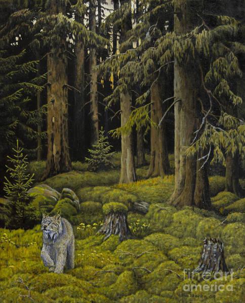 Mossy Wall Art - Painting - Wilderness by Veikko Suikkanen