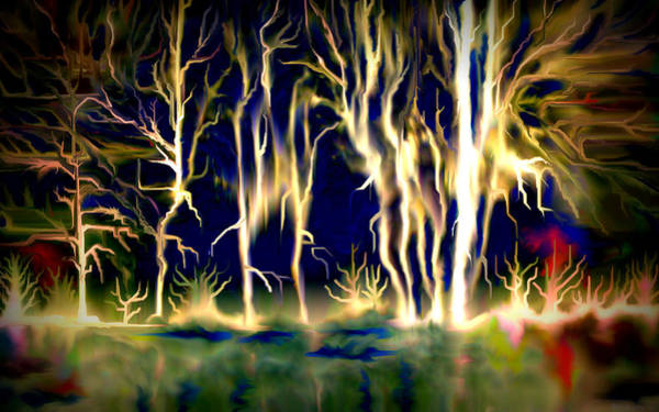 Lightening Painting - Wildfire by Karunita Kapoor