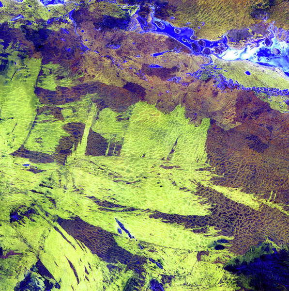Ir Photograph - Wildfire Scars by Nasa/science Photo Library