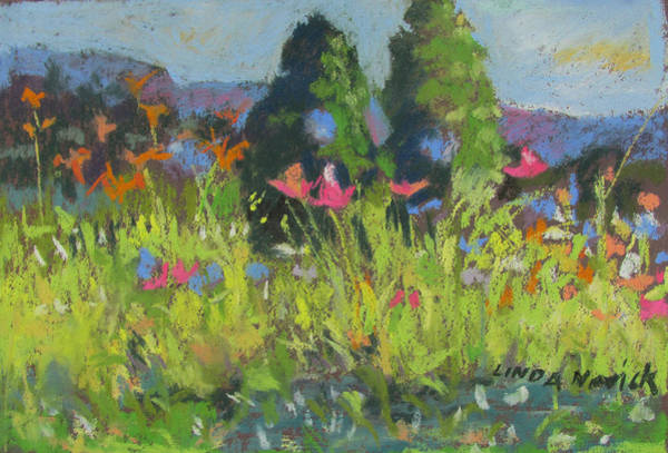 Painting - Wildflowers by Linda Novick