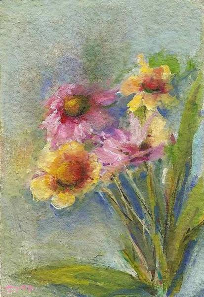 Painting - Wildflowers by Mary Wolf