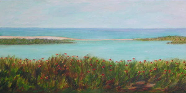 Weeks Bay Painting - Wildflowers On The Bay by Patty Weeks