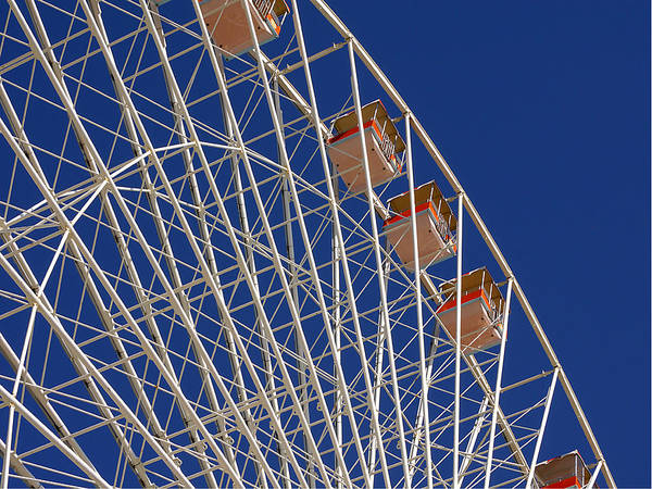 Photograph - Wildwood - Ferris Wheel I by Richard Reeve