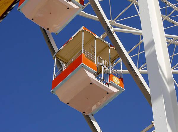 Photograph - Wildwood - Ferris Wheel II by Richard Reeve