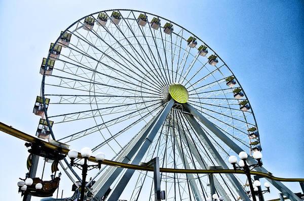 Adventureland Photograph - Wildwood Ferris Wheel by Bill Cannon