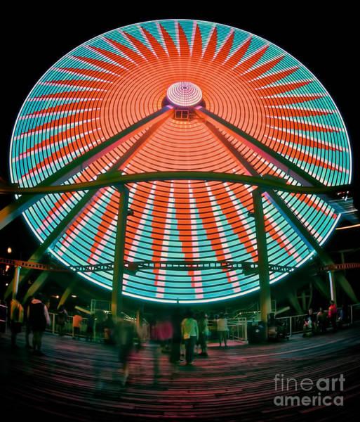 Photograph - Wildwood's Giant Wheel by Mark Miller