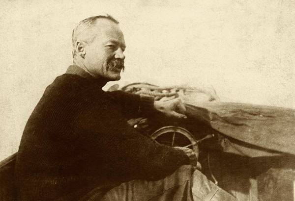 Missionary Photograph - Wilfred Grenfell by American Philosophical Society