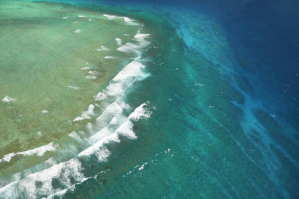 Foreshore Photograph - Wilkes Pass Surf Break, Near Namotu by David Wall