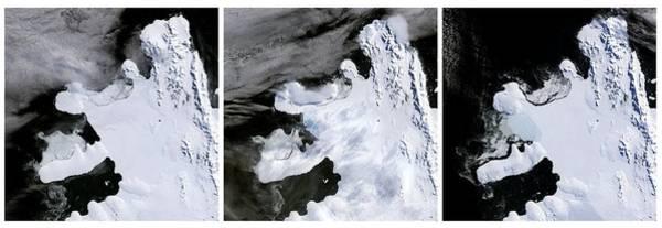 Disintegration Wall Art - Photograph - Wilkins Ice Shelf Break-up by Nasa/science Photo Library
