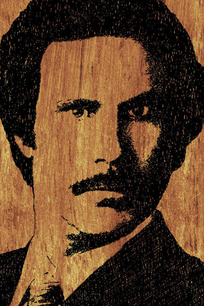 Wall Art - Painting - Will Ferrell Anchorman Ron Burgundy On Simulated Simulated Wood by Tony Rubino
