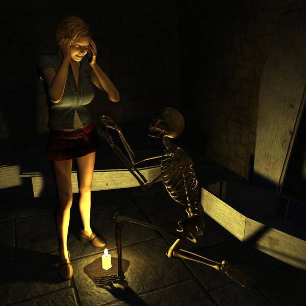 Cellar Digital Art - Will You Be Mine by Gallery Nex