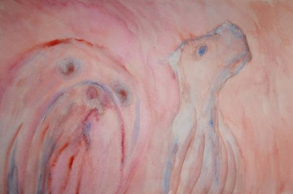Arousal Painting - Will You Ever Understand Or Should I Rather Go Away And Look For Someone Else To Tell My Story To  by Hilde Widerberg