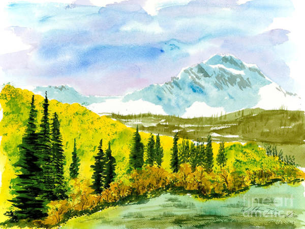 Willard Peak Art Print