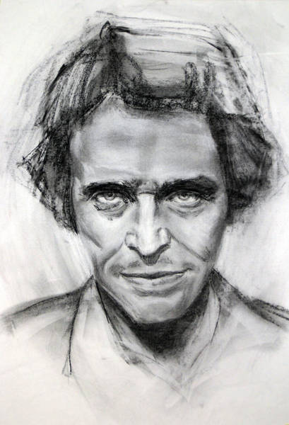 Willem Dafoe Wall Art - Painting - Willem Dafoe Portrait by Cristina Lo