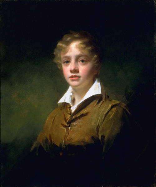 Adolescent Painting - William Blair, C.1814 by Sir Henry Raeburn