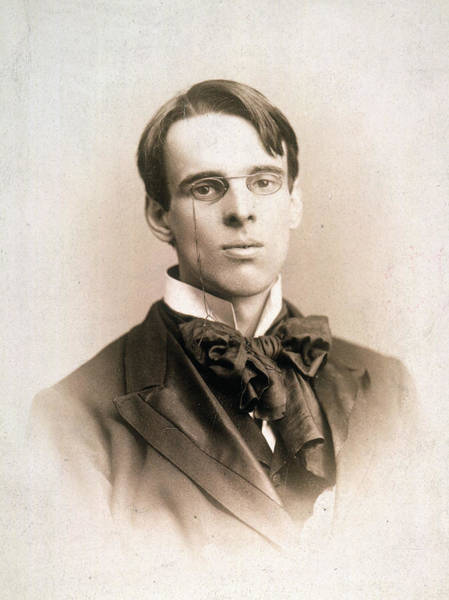 Photograph - William Butler Yeats (1865-1939) by Granger