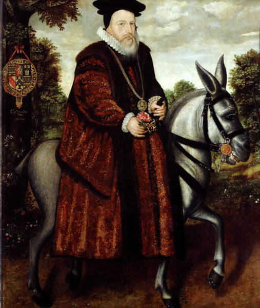 Baron Photograph - William Cecil by Bodleian Museum/oxford University Images